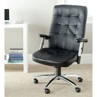 Safavieh Olga Black Desk Chair