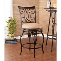 Laurel Creek Fanny Swivel Champagne Counter Stool