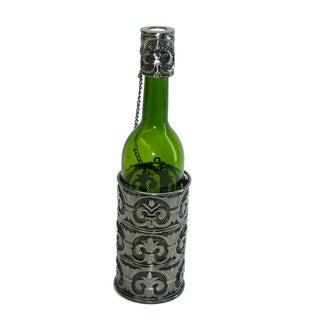 Fleur de Lis Bottle Holder Wine Caddy