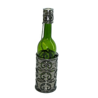 Fleur de Lis Bottle Holder Wine Caddy