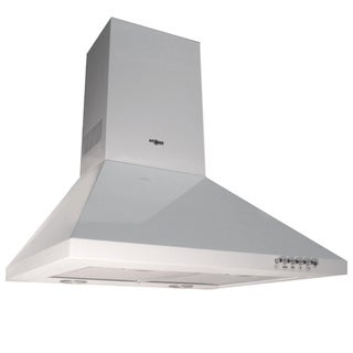 NT AIR White Range Hood