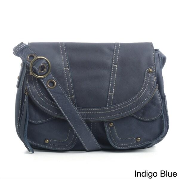 Lucky Brand Beckham Leather Hobo Bag
