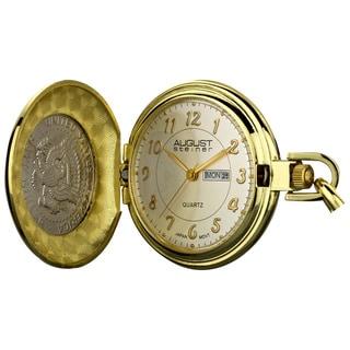 August Steiner Men's JFK Coin Pocket Watch