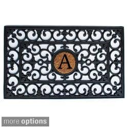 Rubber Monogrammed Doormat (1'6 x 2'6)