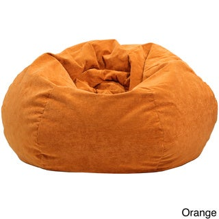 Extra-large Micro-Fiber Suede Corduroy Bean Bag (4 options available)