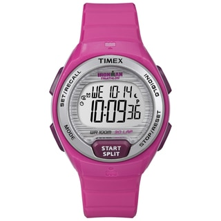 Timex T5K7619J Women's Ironman Oceanside 30-lap Pink Digital Watch