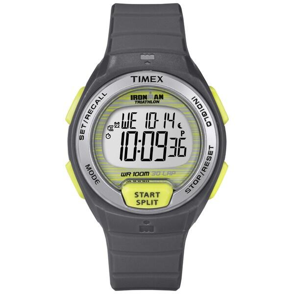 Timex Women's Ironman Oceanside 30-lap Grey Digital Watch