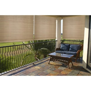 Lewis Hyman Malibu Cream Outdoor/ Indoor Roll-up Shade