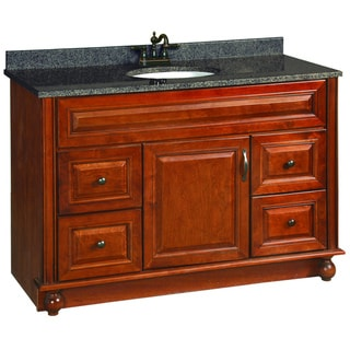 Design House Montclair Chestnut Glaze Vanity Cabinet