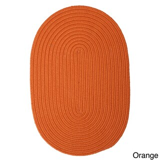 Anywhere Oval Reversible Indoor/ Outdoor Rug (5' x 7')