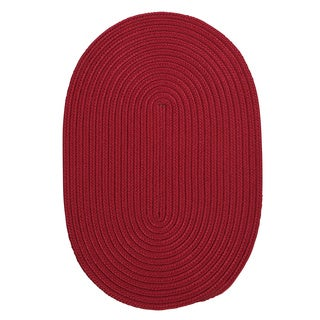 Anywhere Oval Reversible Indoor/ Outdoor Rug (5' x 7') (Option: Linen)