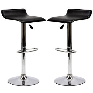 Modern Adjustable Bar Stools Set Of 2 Free Shipping