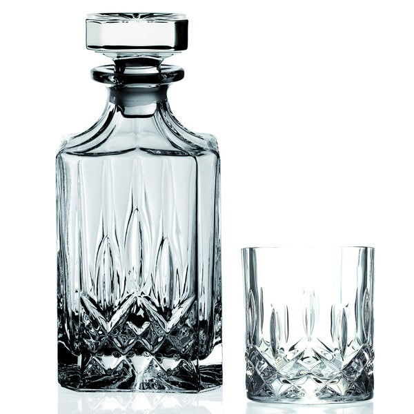 Lorren Home Trend Opera Crystal 7-piece Whiskey Set