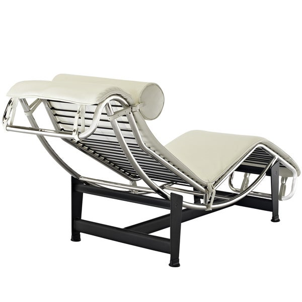 Le Corbusier Style LC4 Genuine Leather Chaise Lounge - Free Shipping Today - Overstock.com - 15506219  sc 1 st  Overstock : chaise lounge le corbusier - Sectionals, Sofas & Couches