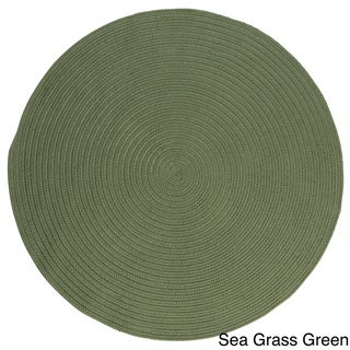 Anywhere Round Reversible Indoor/ Outdoor Rug (6' x 6')
