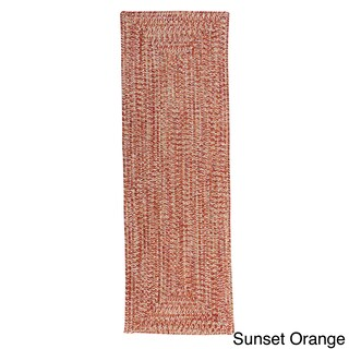 Ocean's Edge Braided Outdoor Rug (2' x 6') (More options available)