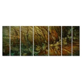 Michael Lang 'Water Falling' Metal Wall Decor 7-piece Set