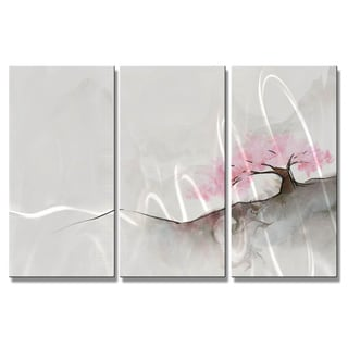 Christopher Price 'Sumi Plum' Metal Wall Hanging