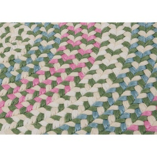 Cake Walk Cotton Candy Multi Area Rug (6' Round)