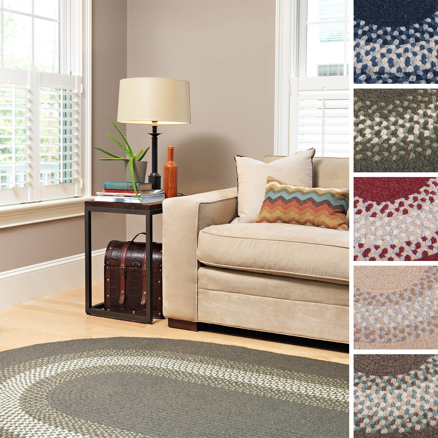 Shop Black Friday Deals On Colonial Mills Cozy Cabin Braided Indoor Area Rug Overstock 8166685