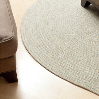 Urban Blend Braided Area Rug (6' x 6')