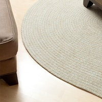 Urban Blend Braided Area Rug (6' x 6') - 6' x 6'
