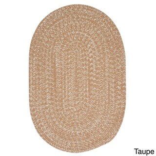 Urban Blend Braided Reversible Rug USA MADE - 4' x 6' (Option: Taupe)