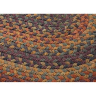 Brown And Orange Rug Home Decor