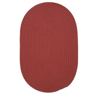 Anywhere' Oval Reversible Indoor/ Outdoor Oval Rug (4' x 6') - 4' x 6'