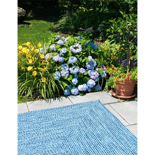Ocean's Edge Multicolored Area Rug (6' x 9')