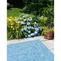 Ocean's Edge Indoor/Outdoor Braided Reversible Rug USA MADE