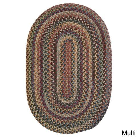 Copper Grove Tonto Multicolor Reversible Wool Rug