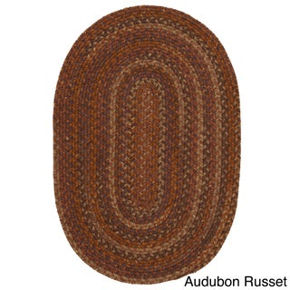 Pine Canopy Tonto Multicolored Wool Oval Area Rug (8' x 10') (5 options available)