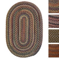 Forester Multicolored Braided Reversible Rug USA MADE - 8' x 10'