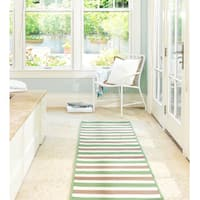 Striped Out Indoor/Outdoor Braided Reversible Rug USA MADE - 5' x 7'