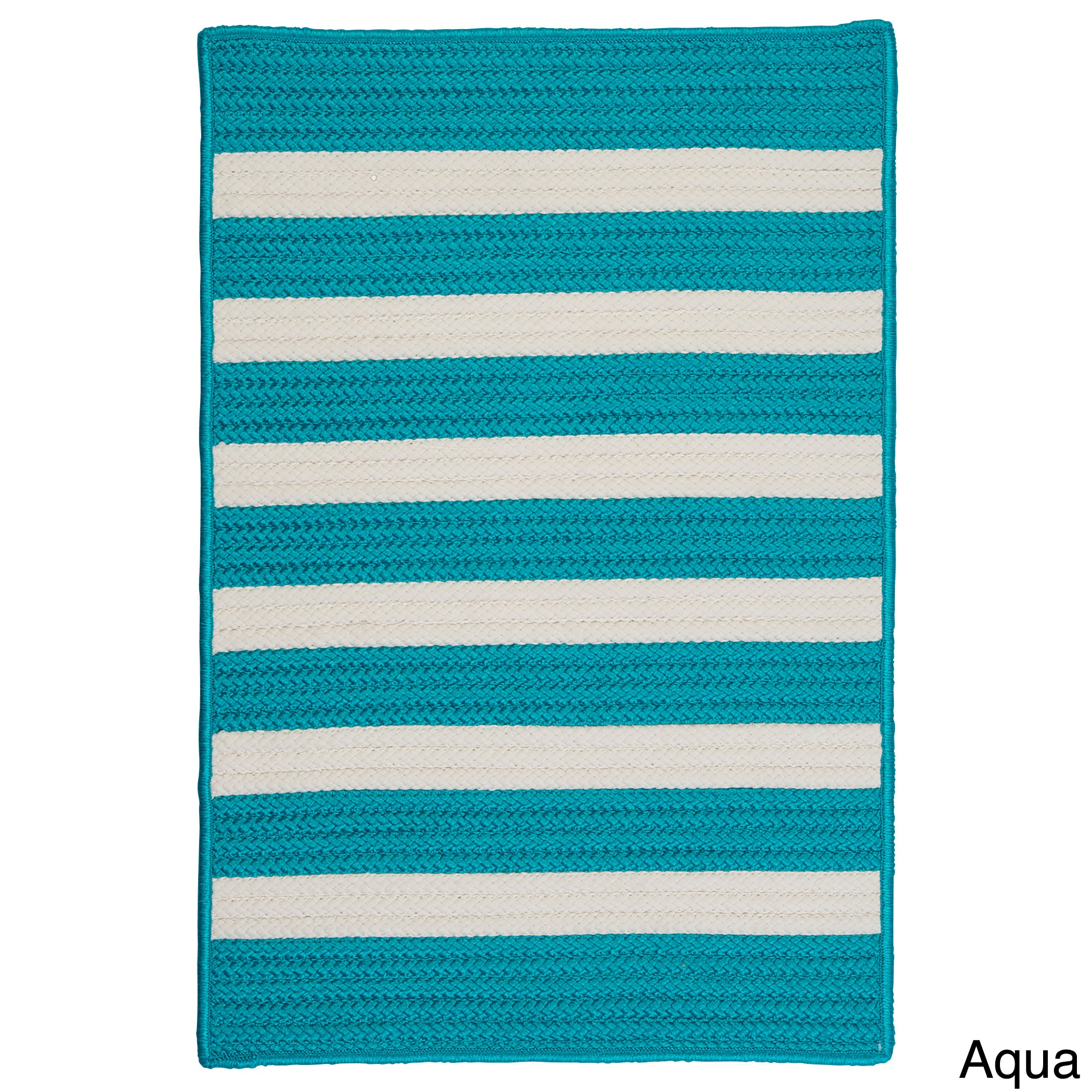 Colonial Mills Striped Out Indoor/Outdoor Braided Reversi...