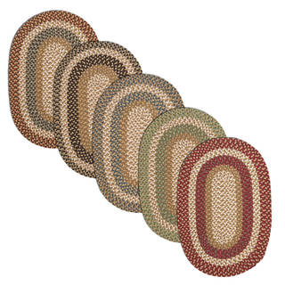 Gourmet Braided Reversible Rug USA MADE - 4' x 6'