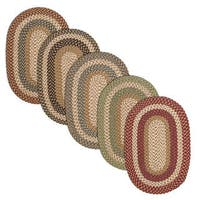 Gourmet Braided Reversible Rug USA MADE - 8' x 10'