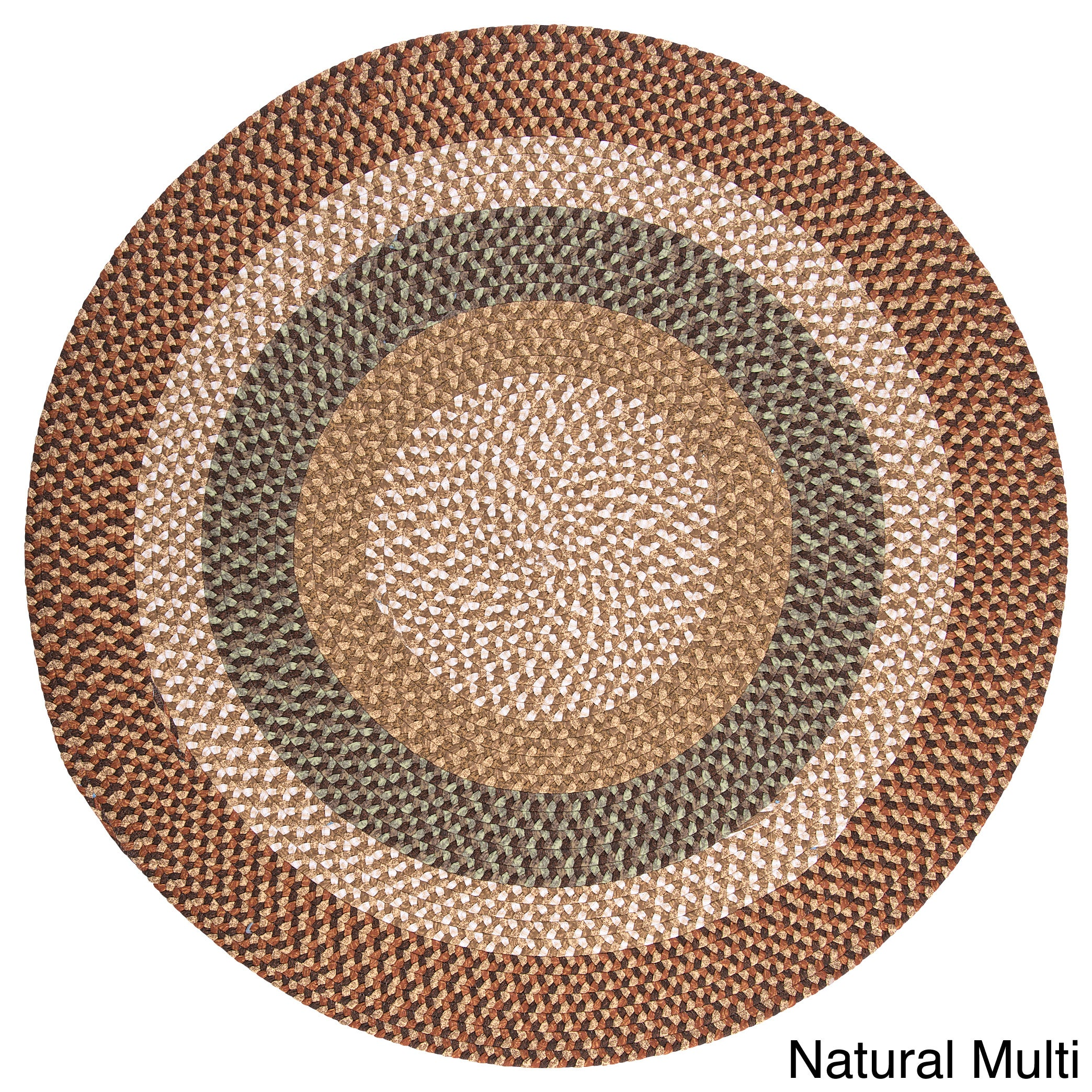 Colonial Mills Gourmet Braided Area Rug (8' x 8') - 8' x ...