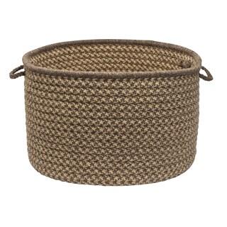 Natural Wool Crisscross
