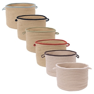 'Light House' 18-inch Braided Basket