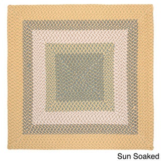 Color Market Indoor/ Outdoor Area Rug (6' x 6')