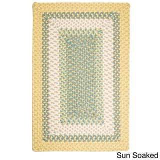 Color Market Indoor/ Outdoor Braided Reversible Rug USA MADE - 8' x 10'