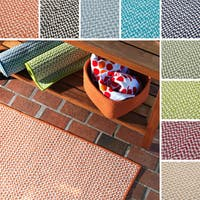 Crisscross Indoor/Outdoor Braided Reversible Rug USA MADE - 8' x 10'