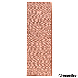 Crisscross Indoor/ Outdoor Area Rug (2' x 8') (More options available)