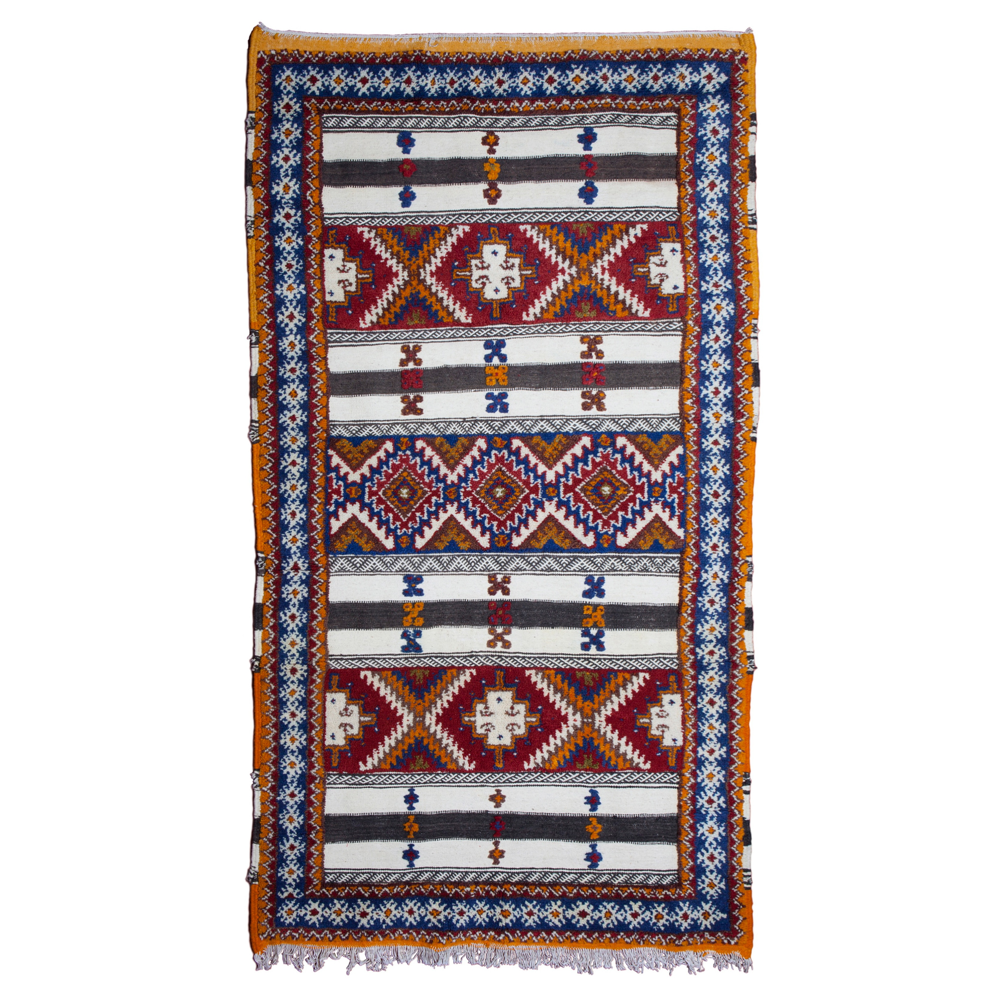 Designer and modern rug Morocco Moroccan pattern Multi