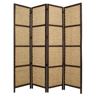Handmade Braided Rope 3-Panel or 4-Panel Seagrass Screen (China)