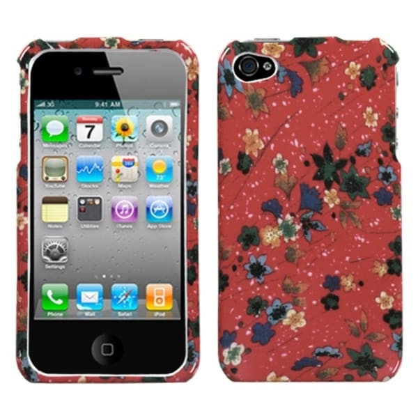 INSTEN Holiday Harvest Phone Case Cover for Apple iPhone 4S/ 4
