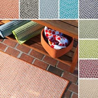 Crisscross Indoor/Outdoor Braided Reversible Rug USA MADE - 6' x 9'