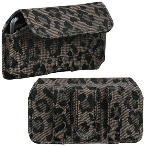 INSTEN Coffee/ Watermark Horizontal Pouch for LG UX700 Bliss